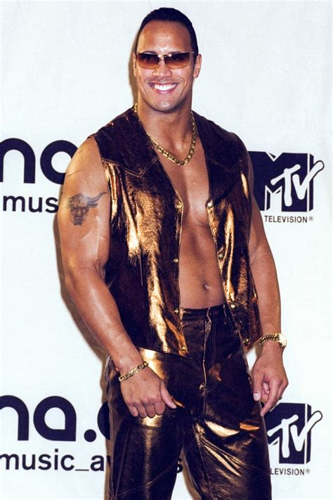 dwayne johnson  rock age height weight images bio