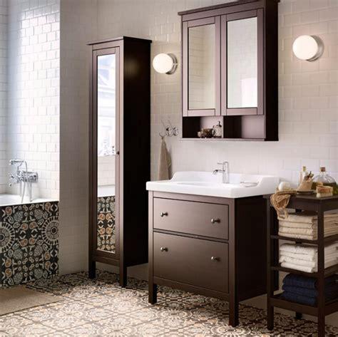 meuble salle de bain ikea hemnes chaios