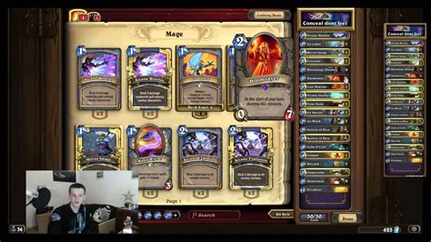 hearthstone deck guide quot freeze mage quot magier deck von