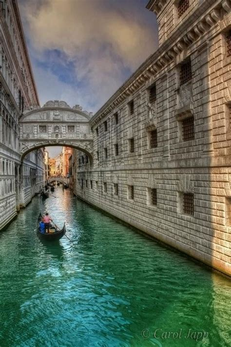 Bridge Of Sighs Venice Italy Oh The Places Id Like