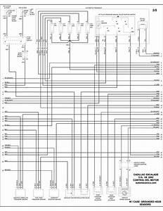 Cadillac - Diagramas Control Del Motor 2002