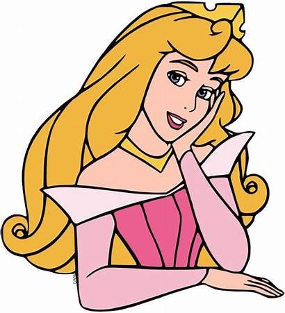 Aurora Sleeping Beauty Clip Face Disney Disneyclips