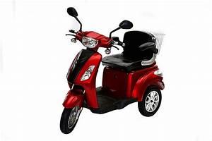 3 Rad Roller Mit Autoführerschein : rolektro e trike 25 rot mit eu zulassung elektroroller e ~ Kayakingforconservation.com Haus und Dekorationen