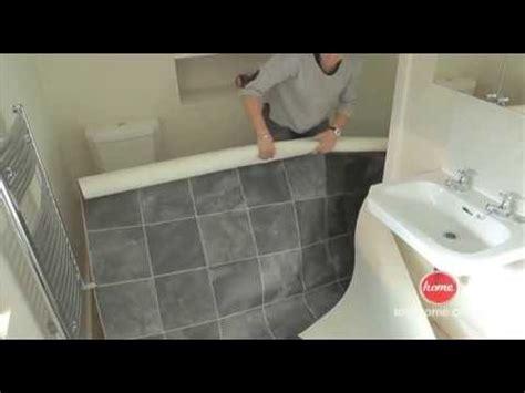 diy   lay vinyl  lino flooring youtube