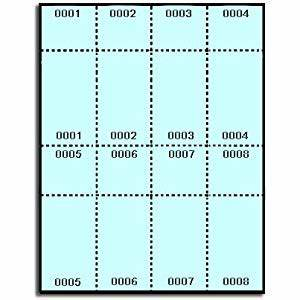 400 label outfittersr blue numbered printable raffle With staples printable tickets template