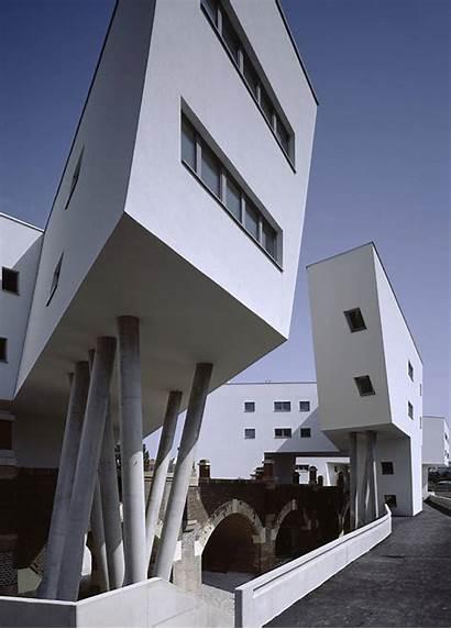 Zaha Hadid Spittelau Housing Viaducts Project Architects