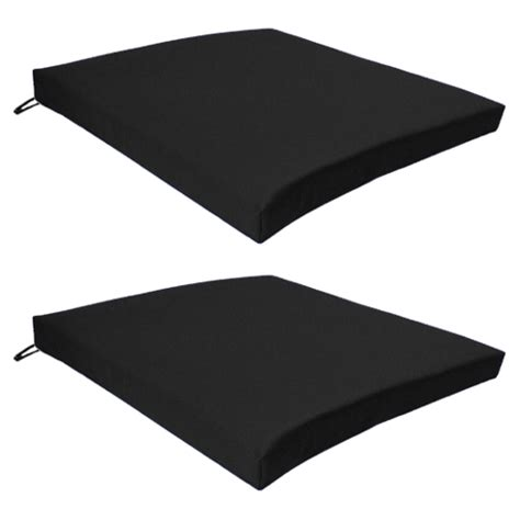 black outdoor indoor home garden chair floor seat cushion