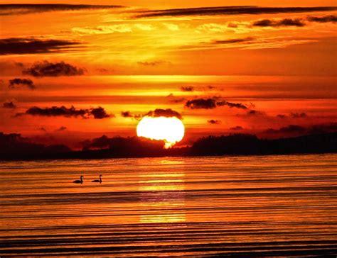 tranquil sunset wallpaper  hd sunset backgrounds