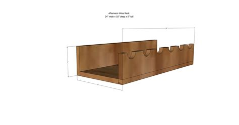 wine rack plans white afternoon wine rack diy projects