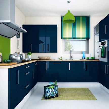 les cuisines de marine sabri repeint sa cuisine meuble de cuisine bleu page 5
