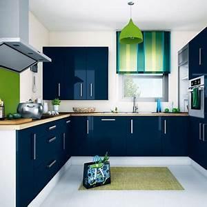 Sabri repeint sa cuisine meuble de cuisine bleu page 5 for Deco cuisine pour soldes meubles