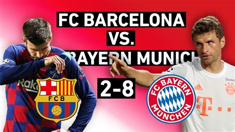 Barcelona vs. Bayern Munich 2-8 | Domination and the End ...