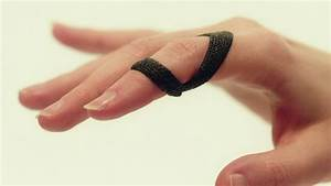 Anti-swan Neck Orthosis  Rolled Oval 8