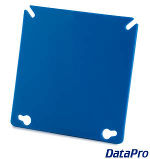 blank industrial  wall plate datapro