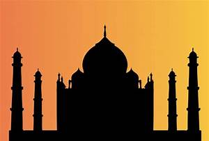 Taj Mahal At Sunset Free Stock Photo - Public Domain Pictures