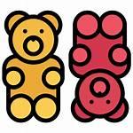 Gummy Bear Icon Gummies Cbd Flaticon Icons