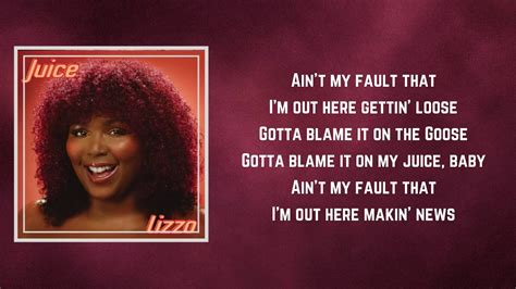 Lizzo.lnk.to/cuziloveyouay watch, sip, repeat subscribe for more content from lizzo: Lizzo / Juice / Lyrics - YouTube