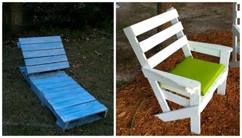 chaise en palette meuble en palette moderne élégant et écologique