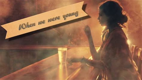 Adele- When We Were Young [lyrics Hd- Live Concert]