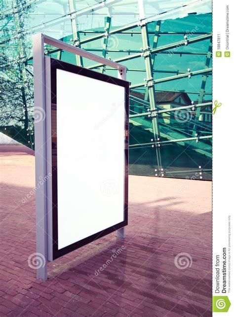 advertising panel   street stock image image