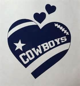 Dallas Cowboys Football Heart