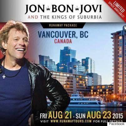 Bon Jovi Vancouver Concert Cancelled Huffpost Canada