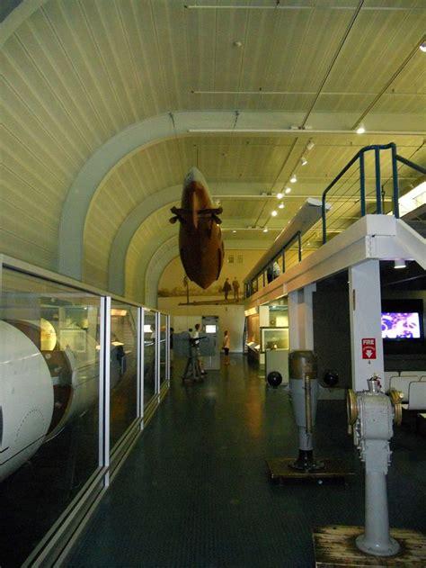 main exhibit hall submarine museum museum architecture