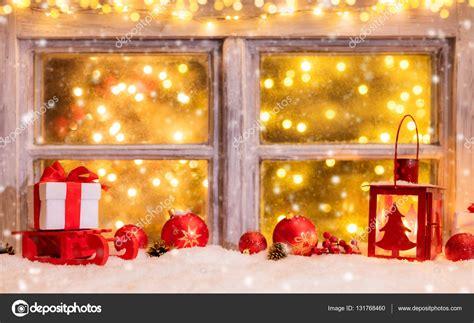 Weihnachtsdeko Fensterbank Innen by Stimmungsvolle Weihnachten Fensterbank Mit Dekoration