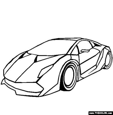Kleurplaat Lamborghini Sesto Elemento by Lamborghini Sesto Elemento Coloring Page