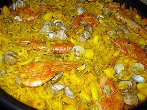 cuisine poisson facile recette de fideua paella de pates