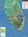 Florida Everglades Map 8.5x11   Everglades florida, Map of ...