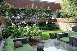 Decoration Jardin Terrasse : idee deco jardin terrasse accueil design et mobilier ~ Teatrodelosmanantiales.com Idées de Décoration