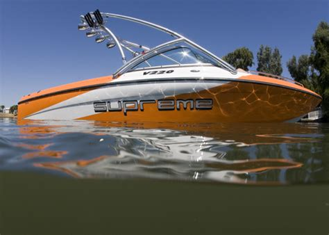 Supreme Boats by Research 2013 Ski Supreme V220 On Iboats