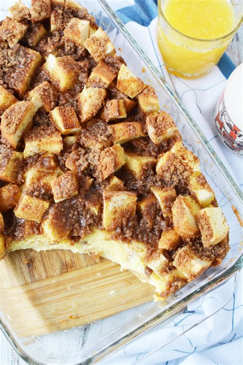 Easy Overnight French Toast Bake Recipe But There