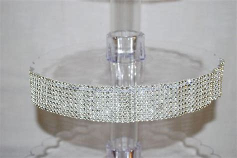 diy bling cupcake stand diy crafts crystals and projects