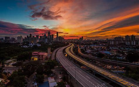 87 viewsbembridge village, rescue station, sunset, sea, bridge, england. Kuala Lumpur Beautiful HD Wallpapers - All HD Wallpapers