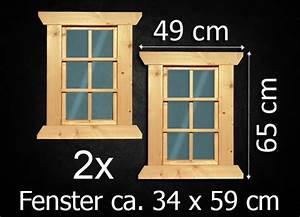 Fenster Für Gartenhaus : 2x fenster holzfenster gartenhaus gartenhausfenster carport garagenfenster neu ebay ~ Whattoseeinmadrid.com Haus und Dekorationen
