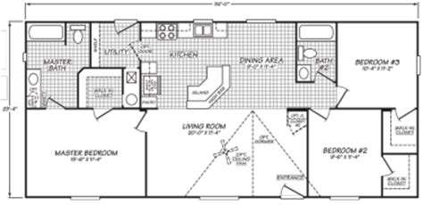 1977 fleetwood mobile home floor plans wide mobile homes factory expo home center