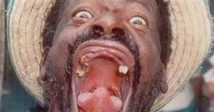 he can really open his mouth.. wide !!!. | Ugly Guys ...