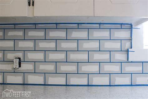 diy cheap subway tile backsplash hometalk