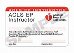 90-1811 - ** ACLS EP Instr 3-Card