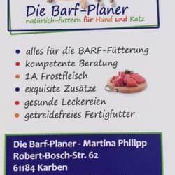Barf Berechnen : die barf planer zoohandlung tierbedarf robert bosch ~ Themetempest.com Abrechnung