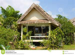 building plans homes free tropical house royalty free stock photography