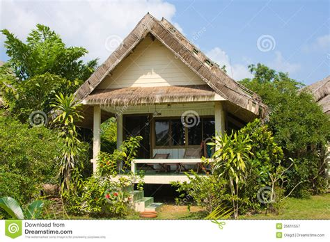 tropical beach house stock image image  exotic coast