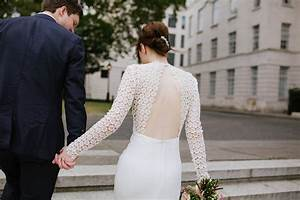 a self portrait dress for a modern and fuss free london With self wedding photography