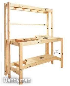 build  diy wood workbench super simple