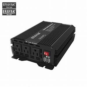 Buy New 1500w Car Power Inverter Auto Dc 12v To Ac 110v