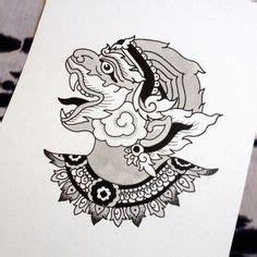 ramakien tumblr illustrations thai tattoo hanuman