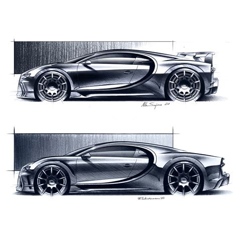 The chiron has 11 radiators, though they don't all cool the engine. The Bugatti Chiron Pur Sport And Chiron Super Sport 300+ May Look Similar, But The Devil Is In ...