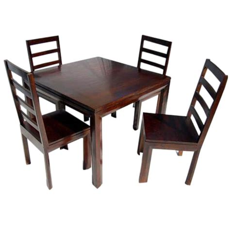 solid wood transitional dining table  chairs set